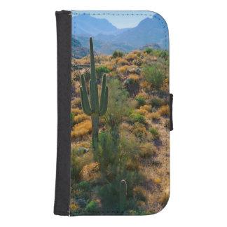 USA, Arizona. Desert View Wallet Phone Case For Samsung Galaxy S4