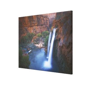 USA, Arizona, Grand Canyon, Havasu Falls Canvas Print