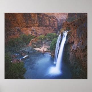 USA Arizona Grand Canyon Havasu Falls Poster