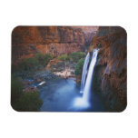 USA, Arizona, Grand Canyon, Havasu Falls Rectangular Photo Magnet