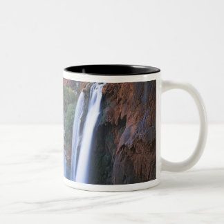 USA, Arizona, Grand Canyon, Havasu Falls Two-Tone Coffee Mug