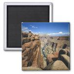 USA, Arizona, Grand Canyon National Park, 2 Inch Square Magnet