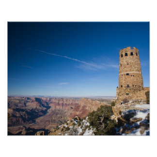 USA, Arizona, Grand Canyon National Park. Desert Poster