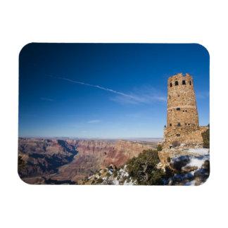 USA, Arizona, Grand Canyon National Park. Desert Rectangle Magnet
