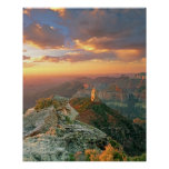USA, Arizona, Grand Canyon National Park. Point Poster