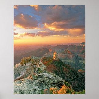 USA, Arizona, Grand Canyon National Park. Point Poster
