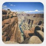 USA, Arizona, Grand Canyon National Park, Square Sticker