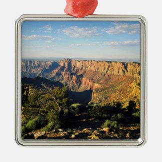 USA, Arizona, Grand Canyon National Park, View Square Metal Christmas Ornament