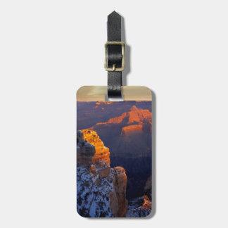 USA, Arizona, Grand Canyon National Park, Winter Tag For Luggage