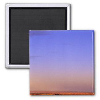 USA, Arizona, Grand Canyon NP. Moon in sky as Refrigerator Magnet