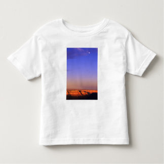 USA, Arizona, Grand Canyon NP. Moon in sky as Toddler T-shirt