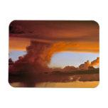 USA, Arizona, Grand Canyon NP. Sunset creates Vinyl Magnets
