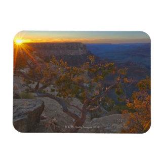 USA, Arizona, Grand Canyon, Yavapi Point at Magnet