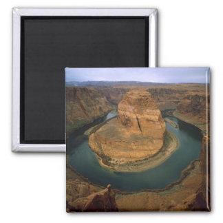 USA, Arizona. Horseshoe Bend showing erosion by 2 Inch Square Magnet