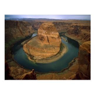 USA, Arizona. Horseshoe Bend showing erosion by Postcard