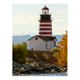 USA, Arizona, Lake Havasu City. View of West Postcard