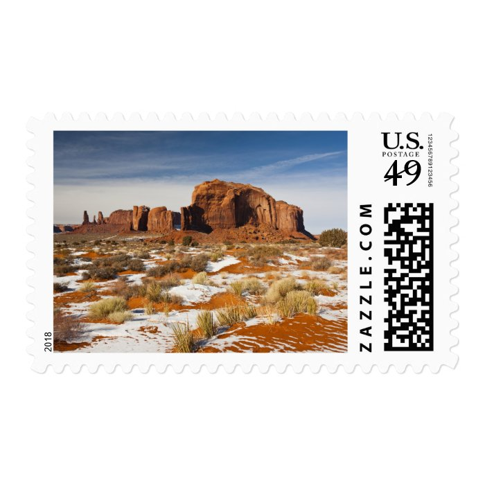 USA, Arizona, Monument Valley Navajo Tribal Postage Stamp