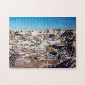USA, Arizona, Petrified Forest National Park Jigsaw Puzzle