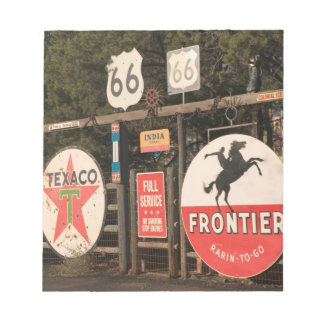 USA, Arizona, Sedona: Antique Advertising Signs Notepads