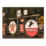 USA, Arizona, Sedona: Antique Advertising Signs Postcard