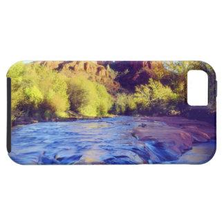 USA, Arizona, Sedona. Cathedral Rock reflecting 2 iPhone 5 Cases