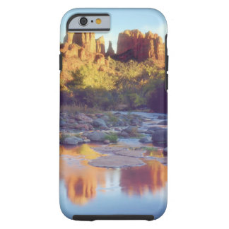 USA, Arizona, Sedona. Cathedral Rock reflecting Tough iPhone 6 Case