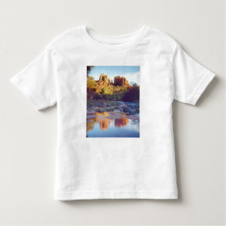 USA, Arizona, Sedona. Cathedral Rock reflecting Tee Shirts