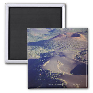 USA, Arizona, Sunset Crater National Monument, 2 Inch Square Magnet