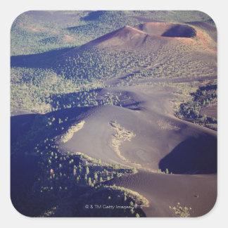 USA, Arizona, Sunset Crater National Monument, Square Sticker