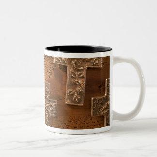USA, Arizona, Tubac: South Arizona's Premier 3 Two-Tone Coffee Mug