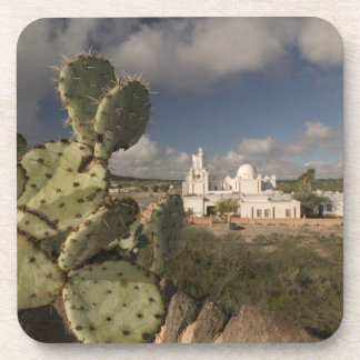USA, Arizona, Tucson: Mission San Xavier del Bac 2 Drink Coaster