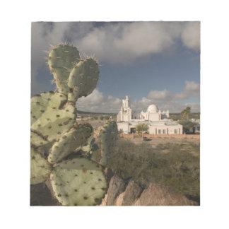 USA, Arizona, Tucson: Mission San Xavier del Bac 2 Notepad