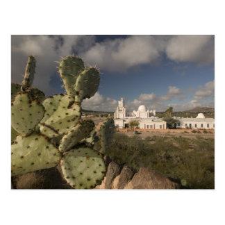 USA, Arizona, Tucson: Mission San Xavier del Bac 2 Postcard