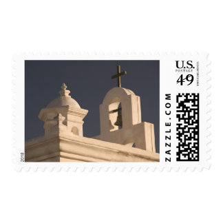 USA, Arizona, Tucson: Mission San Xavier del Bac Postage Stamp