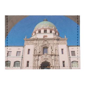 USA, Arizona, Tucson, Pima County Courthouse Tyvek® Card Wallet