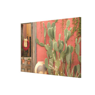 USA, Arizona, Tucson: Presidio Historic District 2 Canvas Print