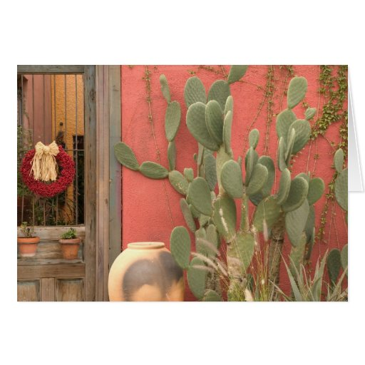 USA, Arizona, Tucson: Presidio Historic District 2 Greeting Card
