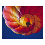 USA, Arizona, Val Vista. A colorful hot-air Poster