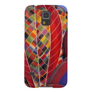 USA, Arizona, Val Vista. Colorful hot-air Case For Galaxy S5