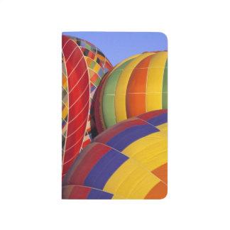 USA, Arizona, Val Vista. Colorful hot-air Journal