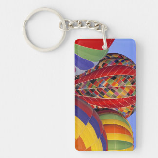 USA, Arizona, Val Vista. Colorful hot-air Keychain