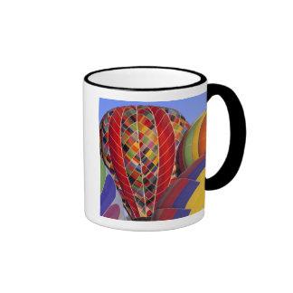 USA, Arizona, Val Vista. Colorful hot-air Ringer Coffee Mug