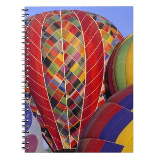 USA, Arizona, Val Vista. Colorful hot-air Spiral Note Books