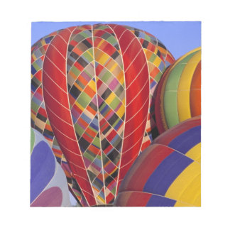 USA, Arizona, Val Vista. Colorful hot-air Notepads