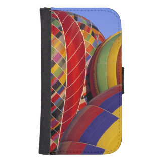 USA, Arizona, Val Vista. Colorful hot-air Galaxy S4 Wallet Case