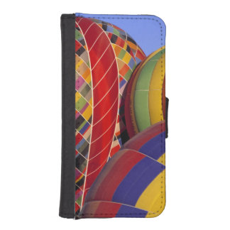 USA, Arizona, Val Vista. Colorful hot-air Phone Wallet Cases