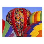 USA, Arizona, Val Vista. Colorful hot-air Postcard