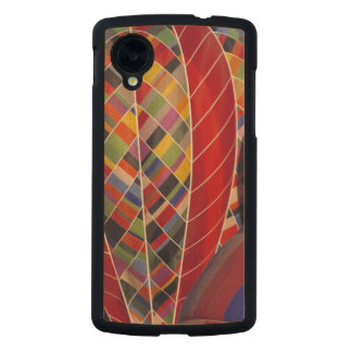 USA, Arizona, Val Vista. Colorful hot-air Carved® Maple Nexus 5 Case