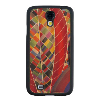 USA, Arizona, Val Vista. Colorful hot-air Carved® Maple Galaxy S4 Slim Case