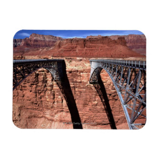 USA, Arizona, View of Navajo Bridge in Grand Magnet